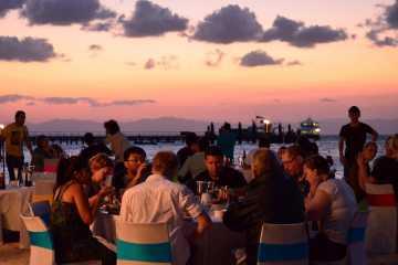 Green Island Beach Dinner