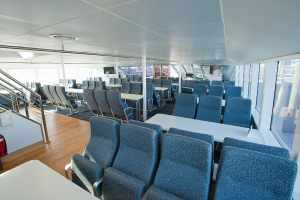 Main Deck Table & Chair Seating