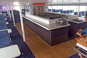 Main Deck Lunch Servery