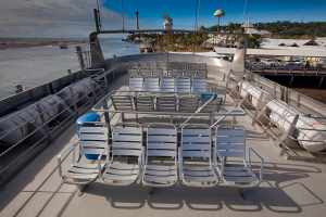 Outside, Sun Deck Seating