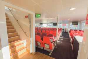 Main Deck Forward, Stairs to Upper Deck