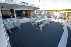 Outside, Aft Upper Deck
