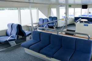 Upper Deck seating arrangements