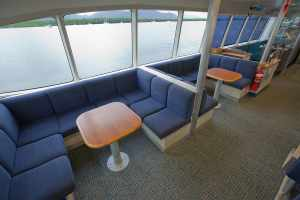Main Deck seating arrangements