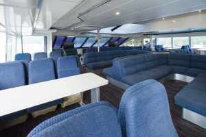 Main Deck Forward, Lounge Seating