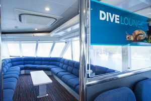 Upper Deck Diver's Briefing Lounge