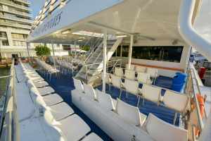 Outside, Aft Upper Deck Seating